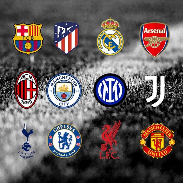 Equipos fundadores de la Superliga