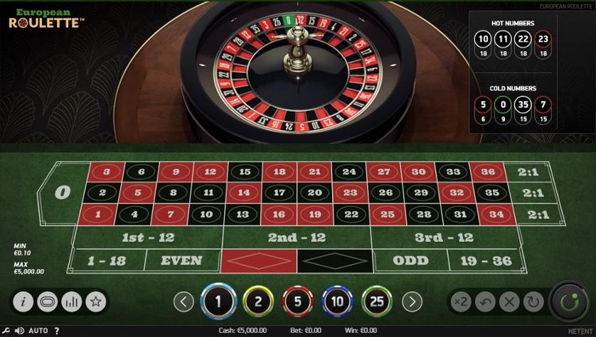 european roulette casino en chile