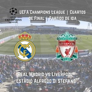 Betsson Chile Real Madrid vs. Liverpool
