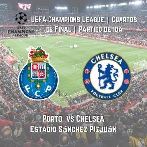 Betsson Chile UCL Porto vs Chelsea