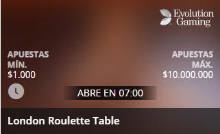 London Roulette Table