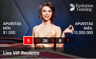 Betsson Casino Live VIP Roulette
