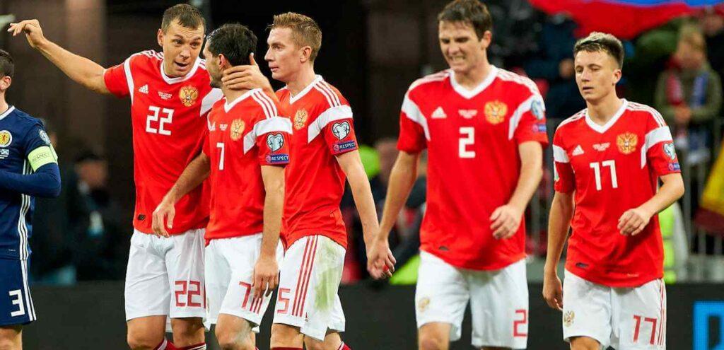 Betsson App Selección Rusia Eurocopa 2021