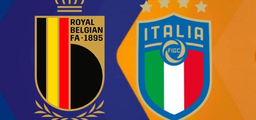 Bélgica vs. Italia
