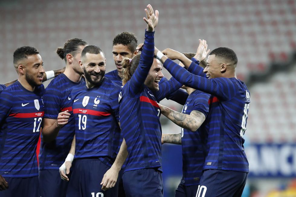 Francia en la Euro 2020