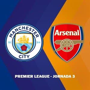Manchester City vs Arsenal destacada